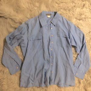 Tommy Bahama Linen Shirt Womens Size Large